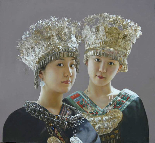 Hyperrealistic painting by Liu Qiang