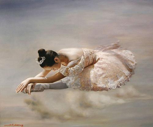 Hyperrealistic painting by Liu Qiang