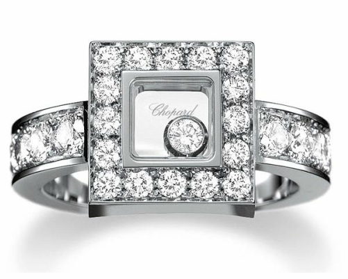 The Chopard floating Diamonds collection