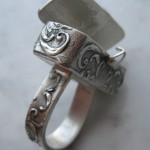 Beautiful silver clay art by Gordon K. Uyehara, freelance artist from Hawaii