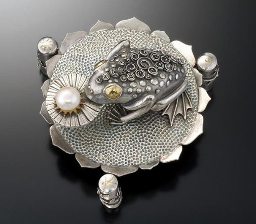 Beautiful silver clay art by Gordon K. Uyehara, freelance artist from Hawaii