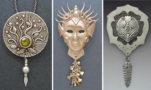 Gordon K. Uyehara silver clay art