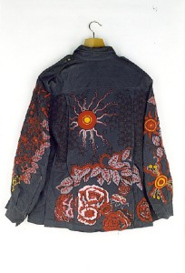 Decorative Textile art by Canadian artist Richard Preston