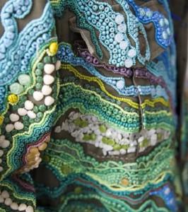 Textile art by Canadian artist Richard Preston