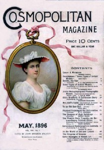 International magazine for women 'Cosmopolitan', 1896