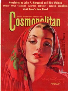 International magazine for women 'Cosmopolitan', 1942