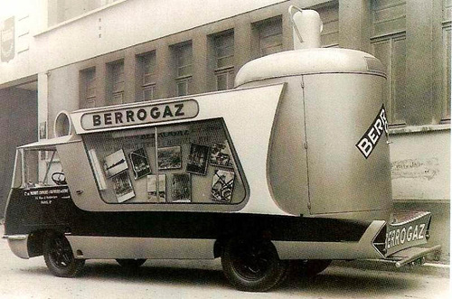 Berrogas bus, unusual bus design