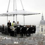 Dinner in the Sky or restaurant in the clouds