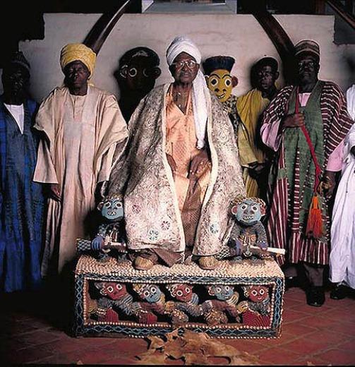 El Hadj Seydou Ndzhimoluh Ndzhoya - Sultan Fumbana and Mfon Bamuna (Cameroon)