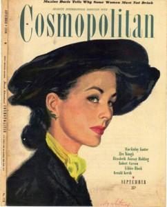 International magazine for women 'Cosmopolitan', 1946