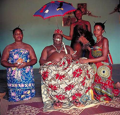Agboli-Agbo Dedzhlani - King of Abomey (Benin)