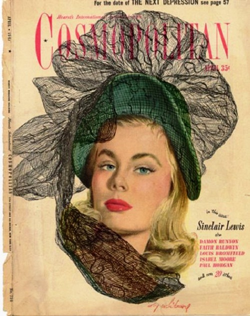 International magazine for women 'Cosmopolitan', 1947