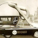 "This vehicle resembles a huge vacuum-clreaner. ""Hoover"" design – perhaps the most outrageous"