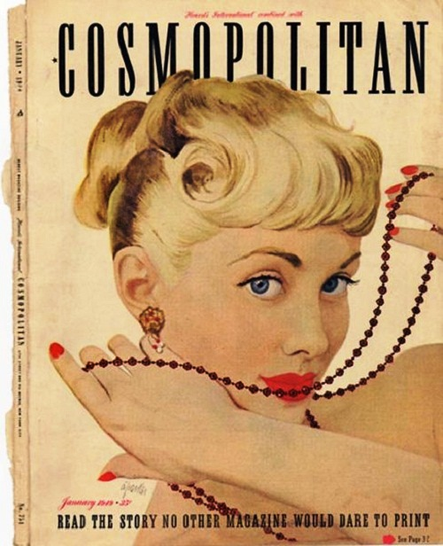 International magazine for women 'Cosmopolitan', 1949