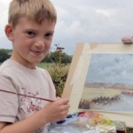 Nine-year-old artist millionaire Kieron Williamson