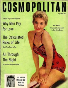 International magazine for women 'Cosmopolitan', 1955