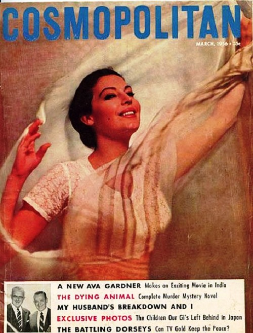 International magazine for women 'Cosmopolitan', 1956