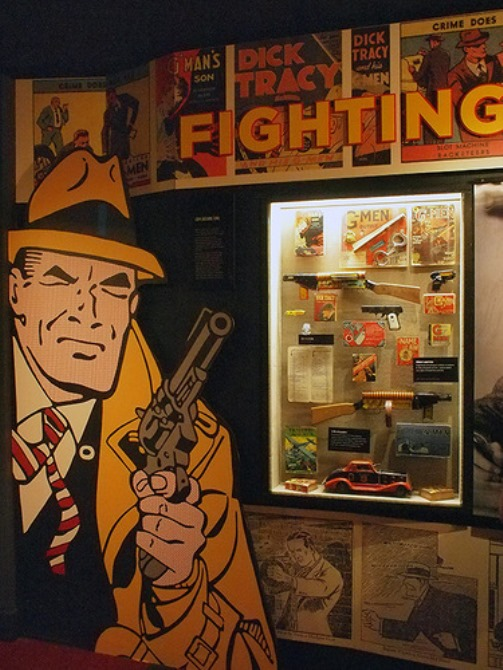 Opened on February 14th, 2012, the Mob Museum