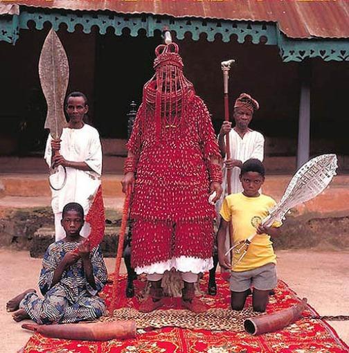 Oba Joseph Adekola Obunoe - Tin Owo (Nigeria)
