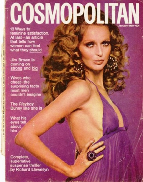 International magazine for women 'Cosmopolitan', 1969
