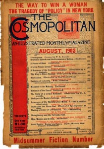 International magazine for women 'Cosmopolitan', 1903