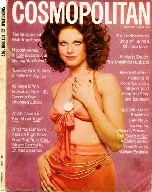 International magazine for women 'Cosmopolitan', 1972