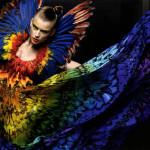 McQueen's Rainbow Dress