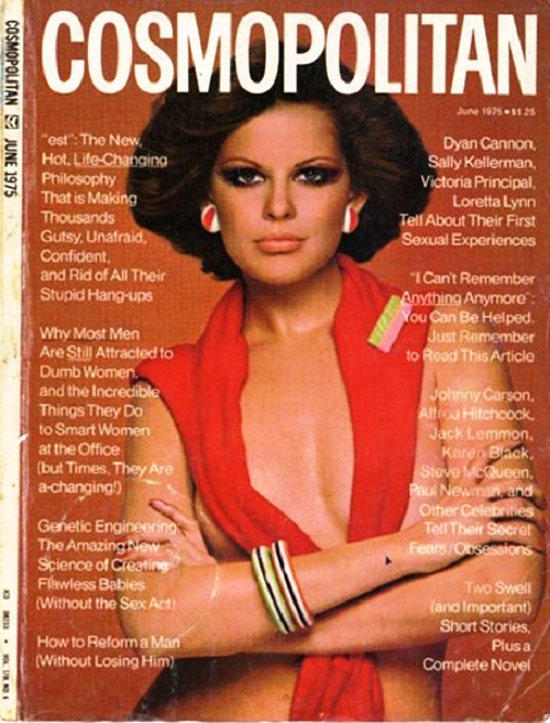 International magazine for women 'Cosmopolitan', 1975