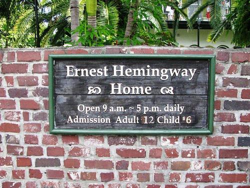 Ernest Hemingway fifty-seven cats
