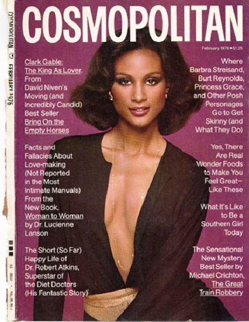 International magazine for women 'Cosmopolitan', 1976