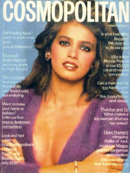 International magazine for women 'Cosmopolitan', 1980