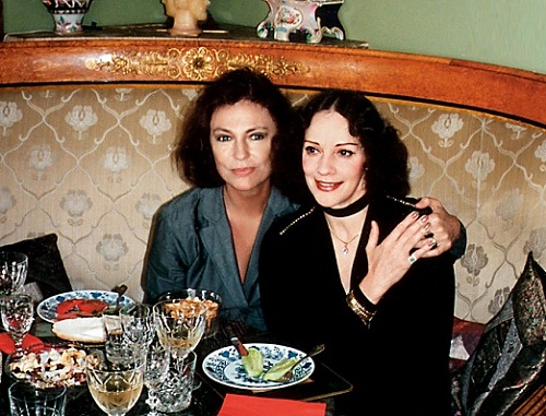 Lyudmila Vlasova and Jacqueline Bisset