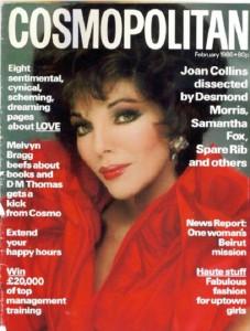 International magazine for women 'Cosmopolitan', 1986