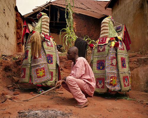 Nigerian Yoruba voodoo clan