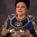 Soviet and Russian singer Ludmila Zykina