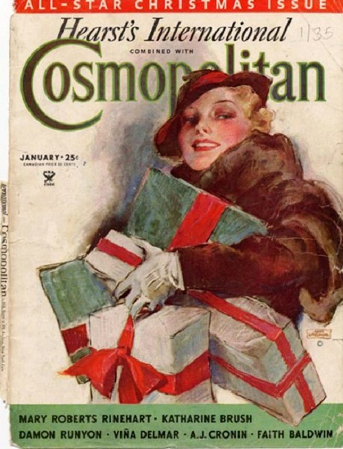 International magazine for women 'Cosmopolitan', 1935