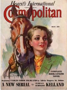 International magazine for women 'Cosmopolitan', 1937