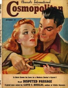 International magazine for women 'Cosmopolitan', 1938