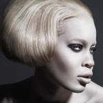 African-American top model and fashion model Diandra Forrest