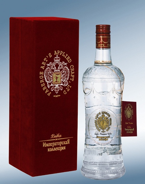 """Imperial Collection"" vodka, a diamond in precious mounting, unique and inimitable"