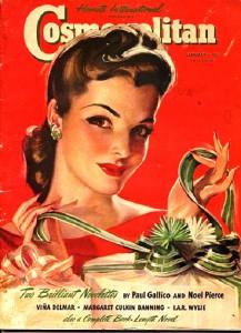 International magazine for women 'Cosmopolitan', 1941