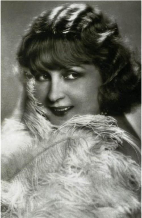 Actress Ksenia Desnitskaya, nee Desnitsky, Berlin, 1927