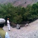 Helpless Afghan woman gunned down