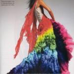 Joy Bryant Rainbow dress