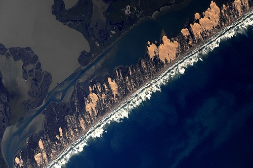 Beauty of Earth in photo by cosmonaut Fyodor Yurchikhin