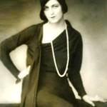Ballerina Olga Spesivtseva, Paris, 1929