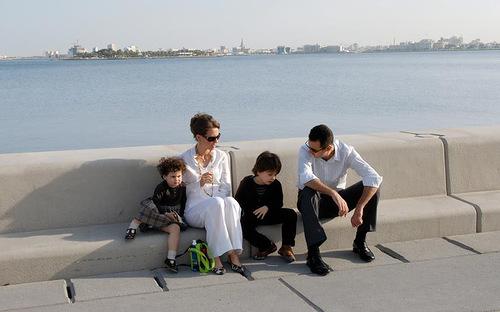 Bashar Hafez Al-Assad and his family