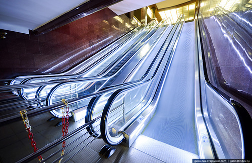 There are 16 escalators in the Kazan metro