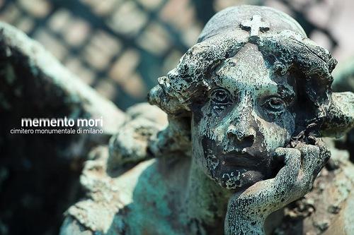 Beautiful cemetery Chimitero Monumental