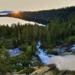 Cascade Falls Sunrise, Lake Tahoe, California